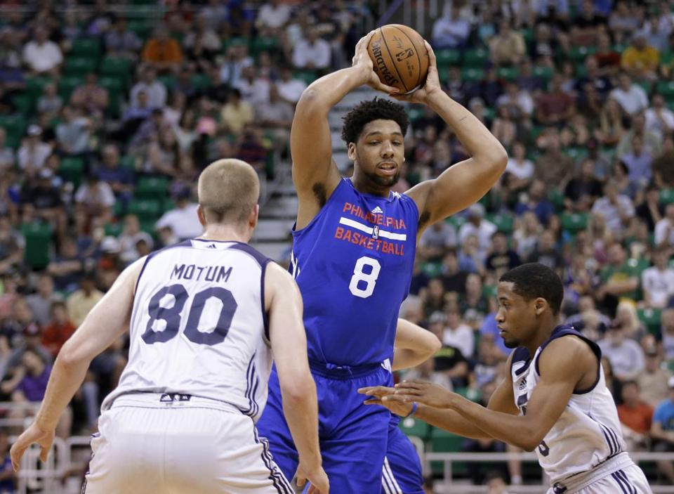Jahlil Okafor played in five summer league games, averaging 16.8 points.