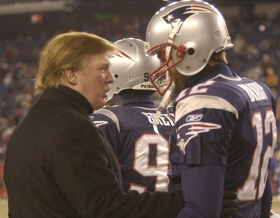 Tom Brady and Donald Trump are old pals 7f2f3856b