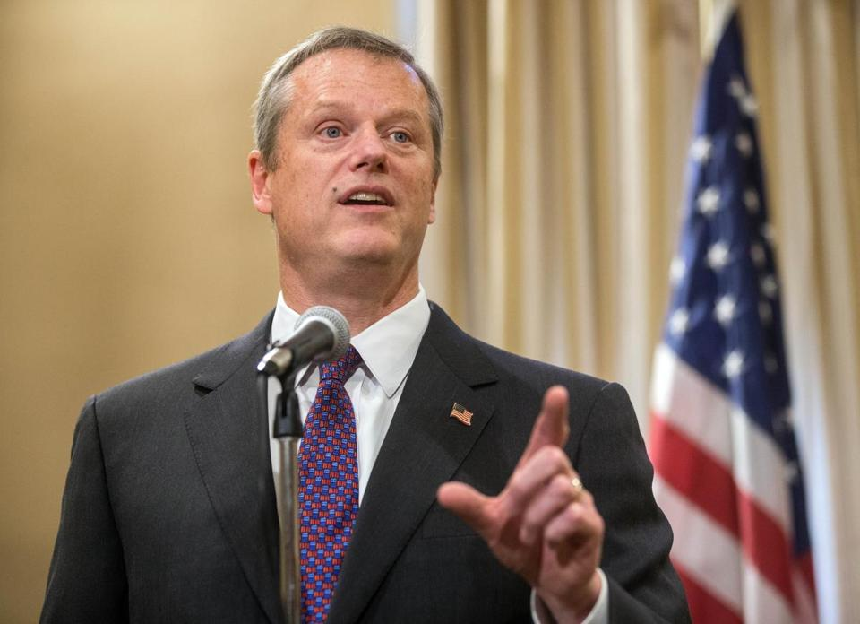 Governor Charlie Baker says the status quo isn't working to solve energy issues.