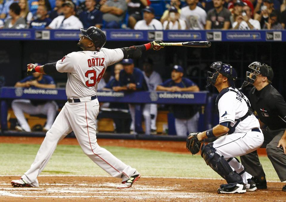 Red Sox DH David Ortiz becomes 27th player in MLB history to hit 500 home runs…