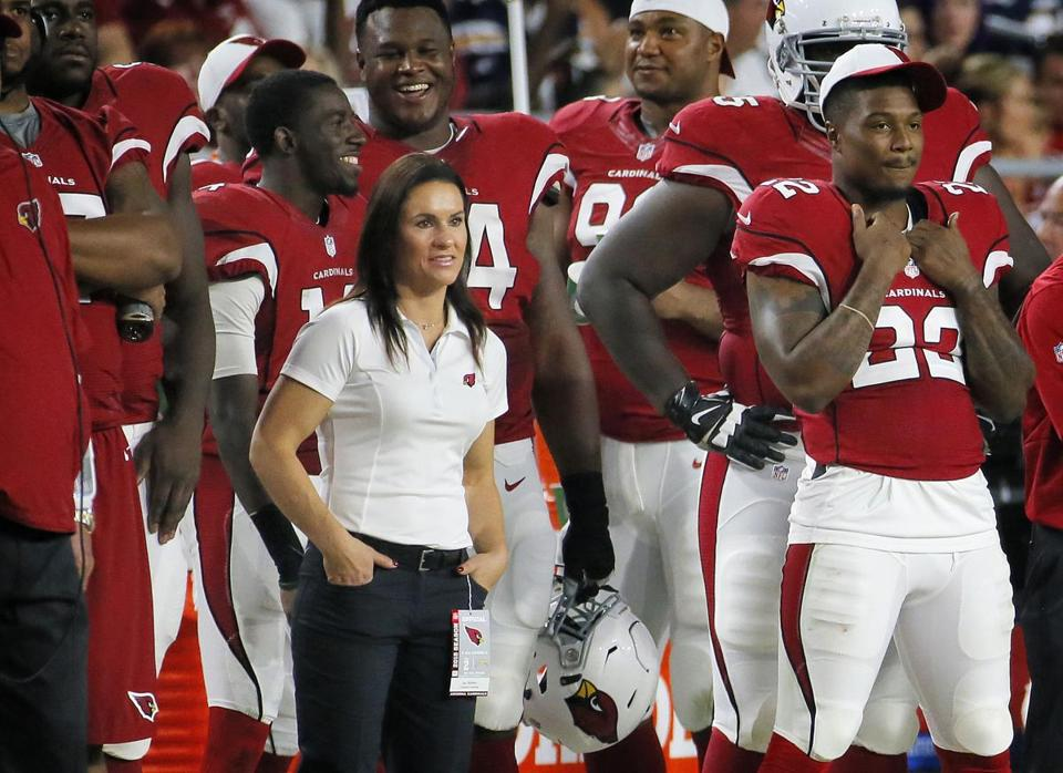 Dr. Jen Welter, the first woman to coach in the NFL, has written a book about her pro experience.