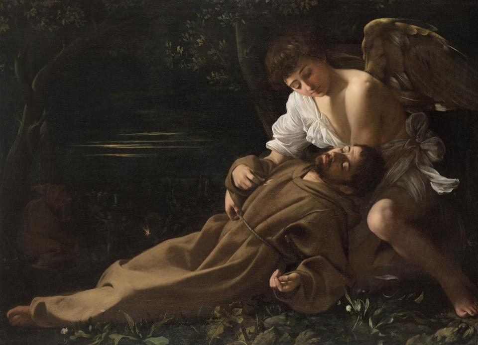 "Caravaggio's ""Saint Francis of Assisi in Ecstasy."""