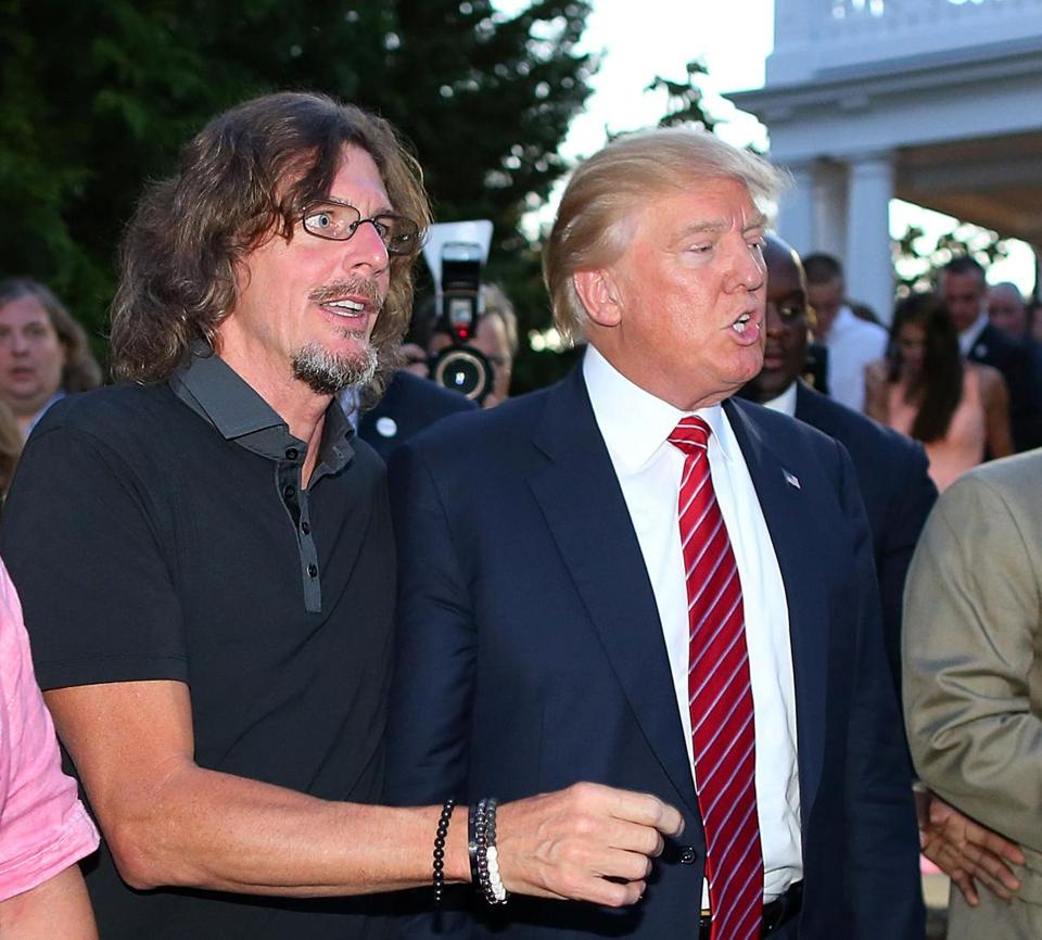 Ernie Boch Jr. was seen with Donald Trump in August.