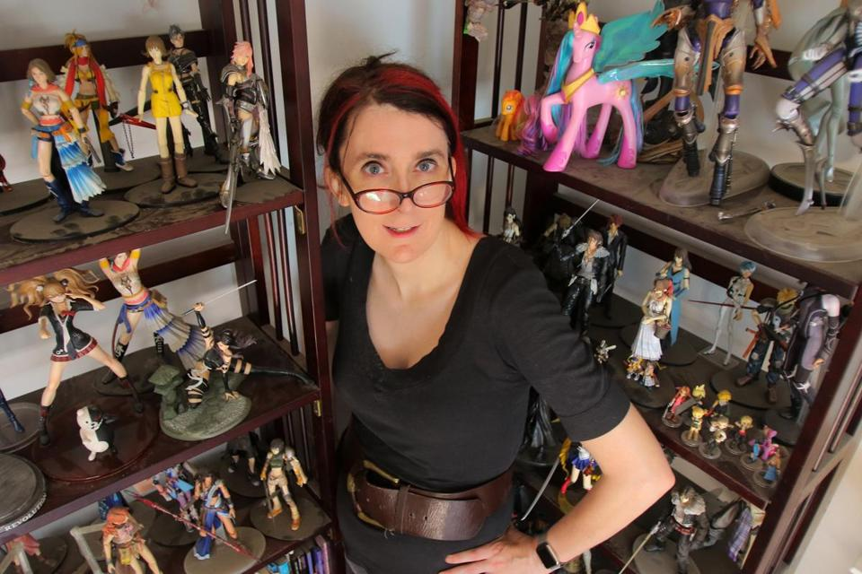"As the self-styled ""Godzilla of tech feminists,"" Brianna Wu of Arlington has been a lightning rod for online hate speech, but she'd rather be known for the games she develops."