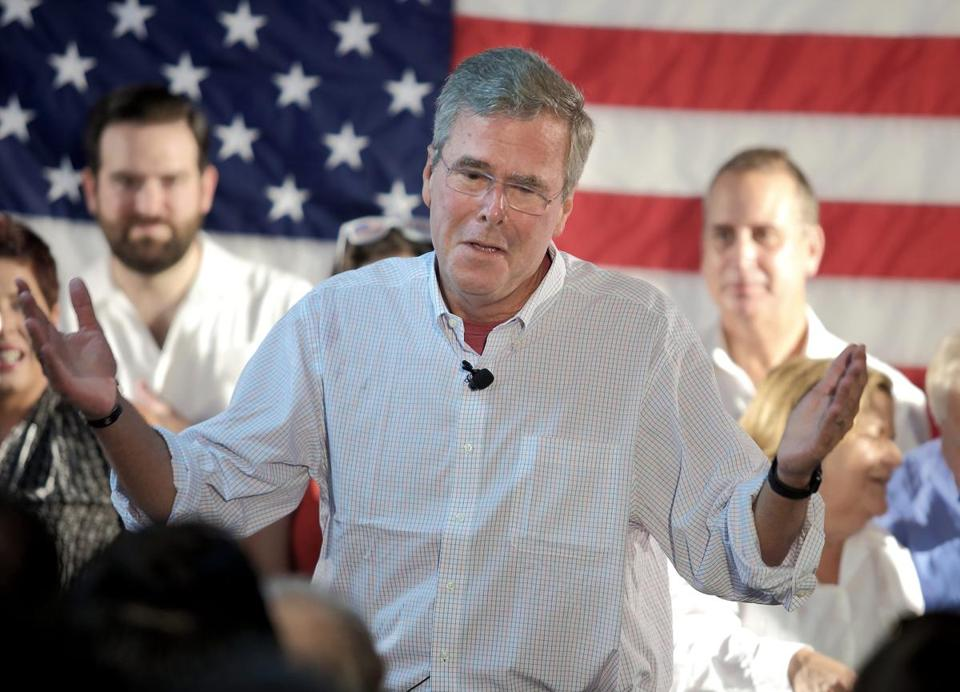 Jeb Bush Is No George W And That S A Problem The Boston Globe