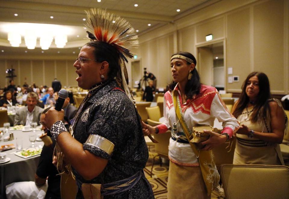 wampanoag tribes gain in national status the boston globe