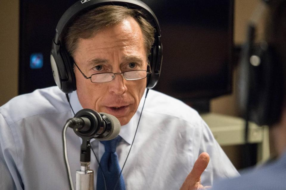 In an interview with the Harvard Kennedy School PolicyCast, David Petraeus discussed US economic growth, the Iran nuclear deal, and Syria's civil war.
