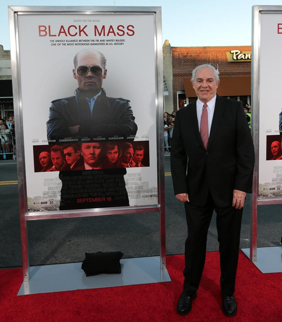 "Gerard O'Neill, one of the authors of the book ""Black Mass."""
