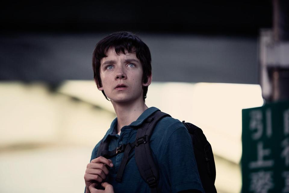 "Asa Butterfield in a scene from ""A Brilliant Young Mind."""