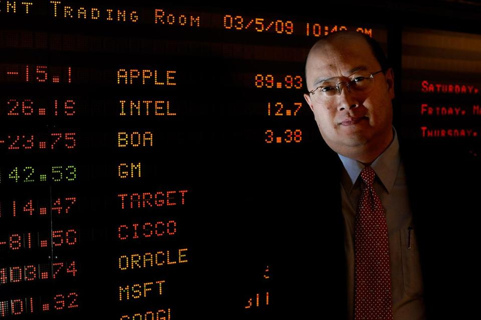 MIT finance professor Andrew Lo in 2009.