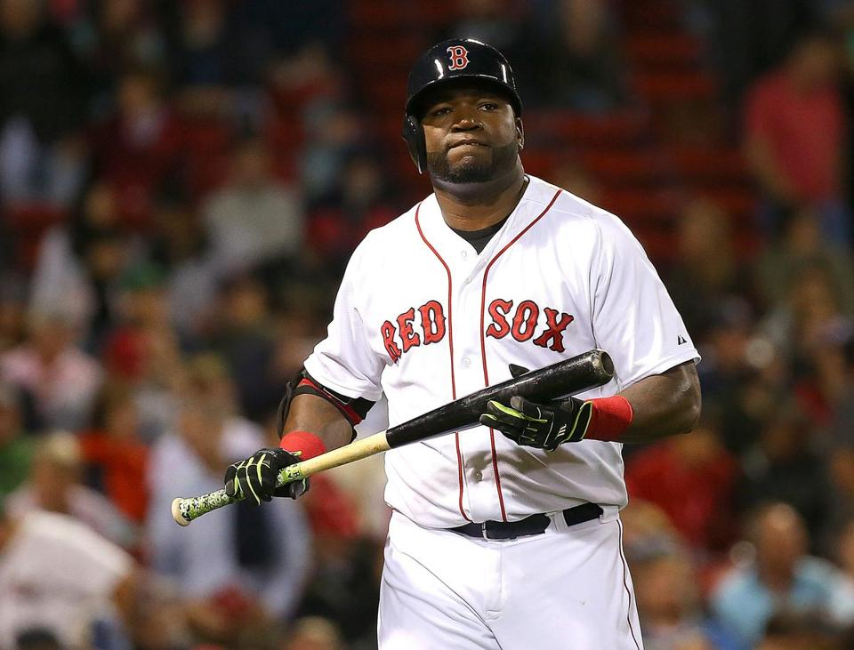 David Ortiz during a recent game at Fenway Park.