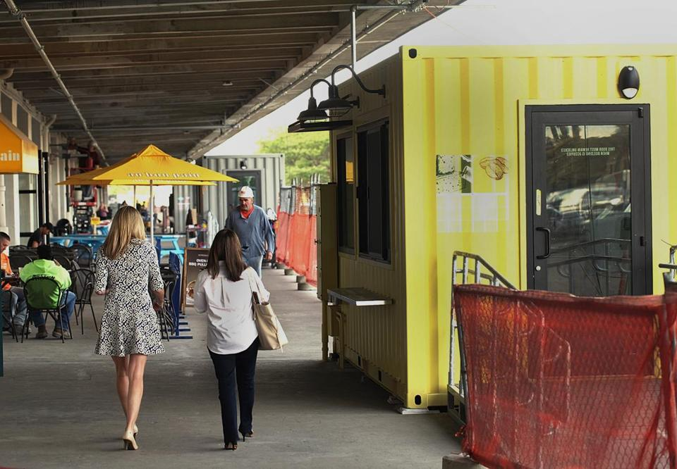 Jubali drinks will be sold from a shipping container at the Innovation and Design Building in the Seaport District.