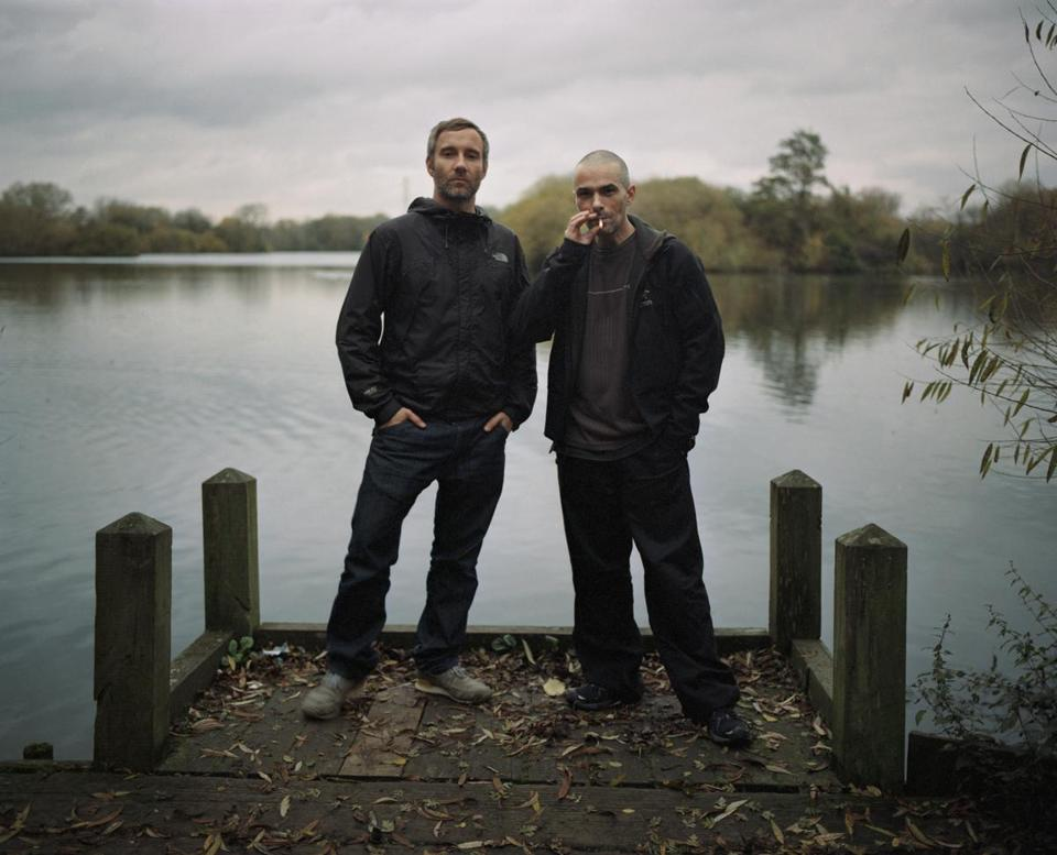 English electronic music duo Autechre.
