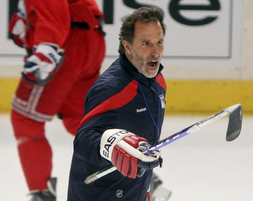 John Tortorella is looking to downgrade his reputation from flammable to dependable.
