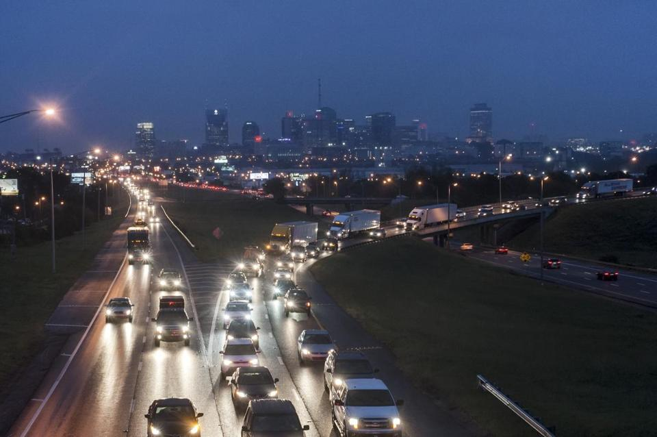 Nashville has the population size of Boston with one of the worst traffic congestion in the nation.