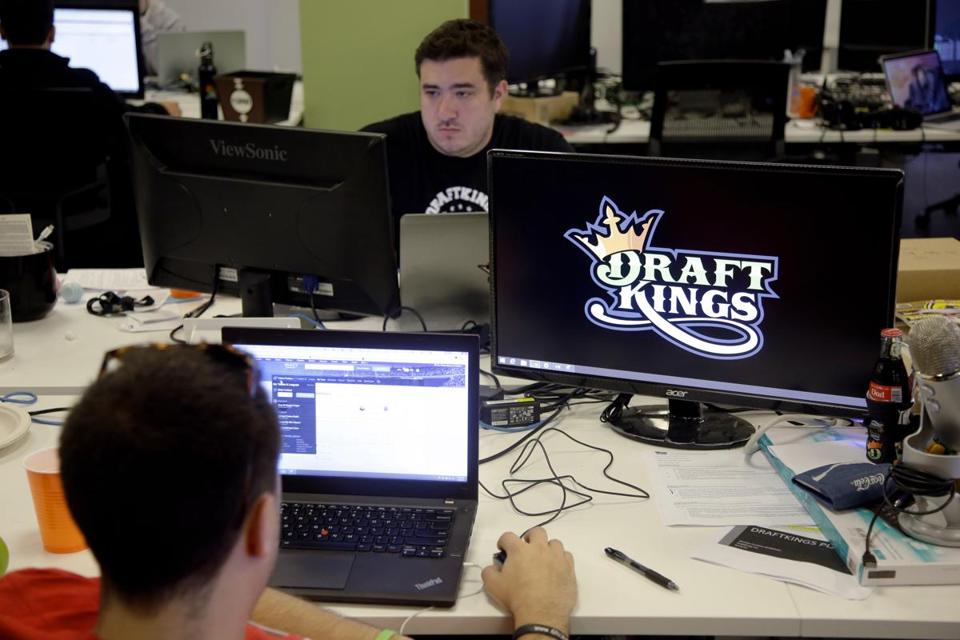 DraftKings, a Boston-based startup, is one of the leading fantasy sports companies.