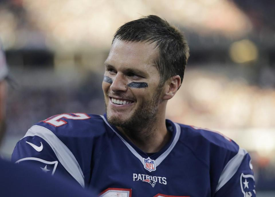 Tom Brady led the Patriots to a 30-6 victory over the Cowboys on Sunday.