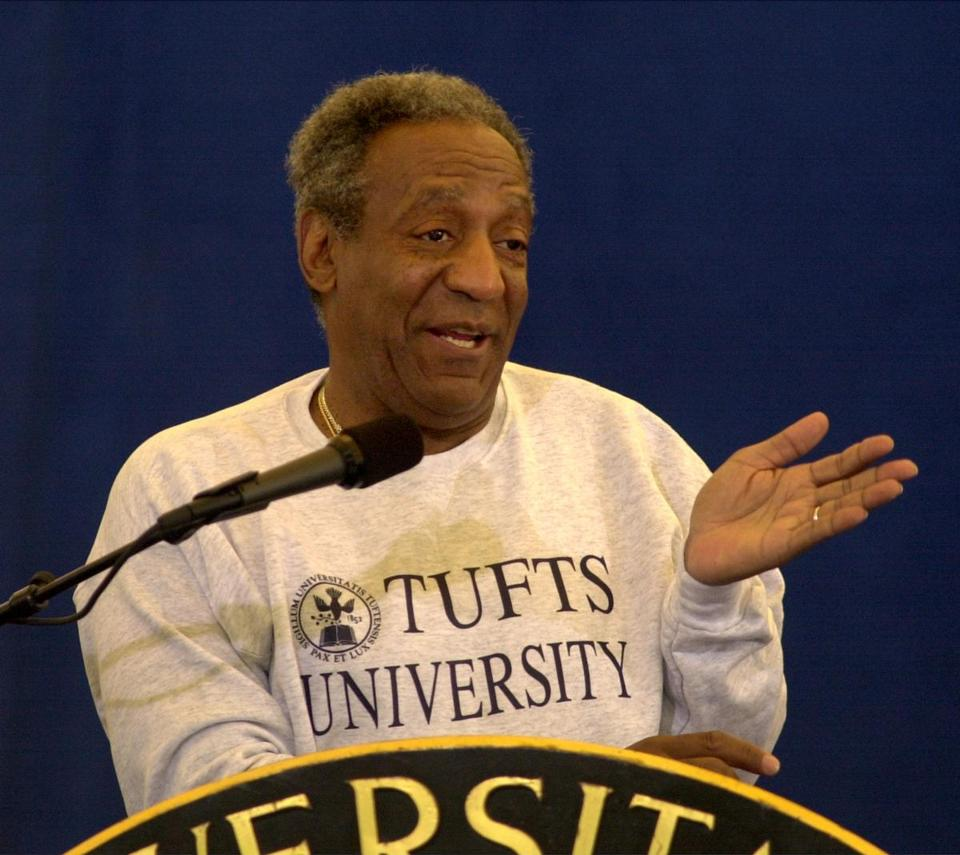 Bill Cosby was the commencement speaker at Tufts University and recipient of an honorary degree in 2000.