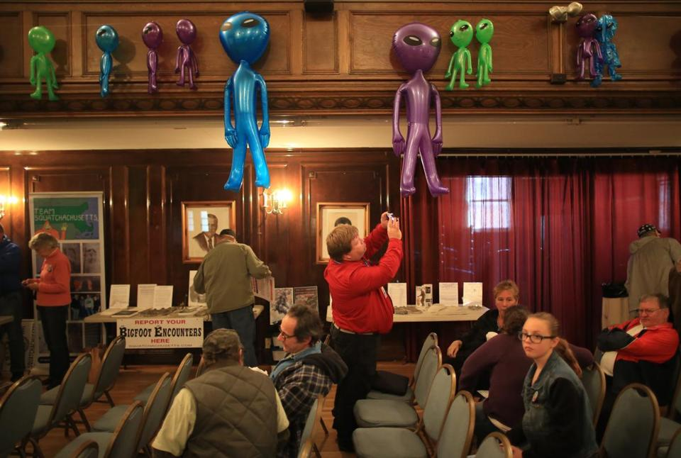 The 2015 Greater New England UFO Conference in Leominster.