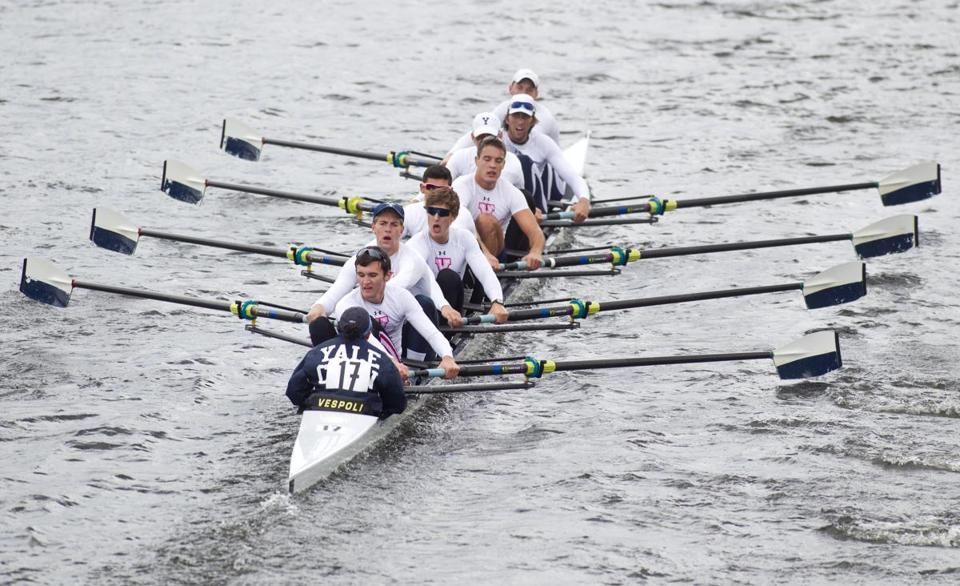 Yale posted the fastest time in four years in the Championship Men's Eight race.