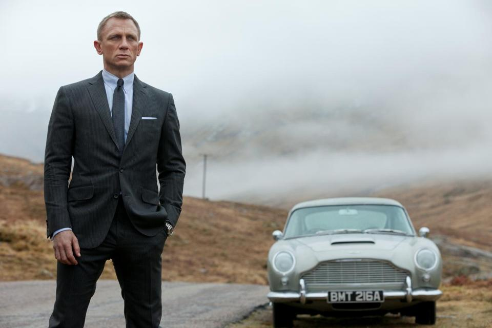 "Daniel Craig as James Bond in 2012's ""Skyfall."""