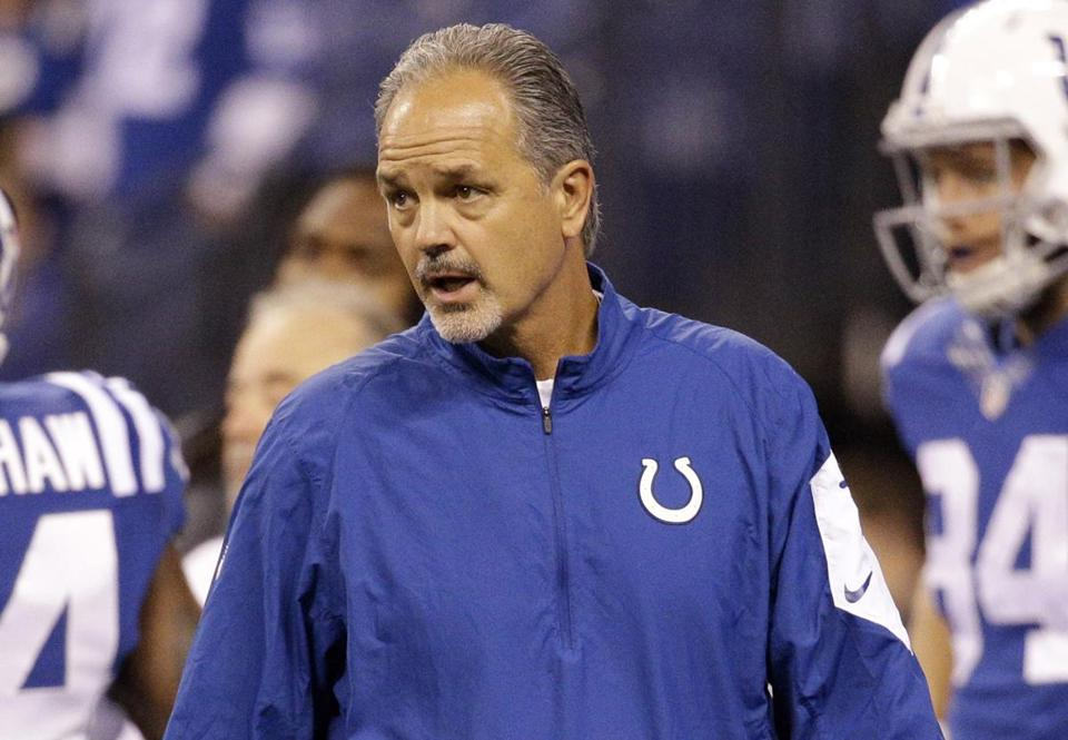 Colts coach Chuck Pagano may have been onto something with his fake punt — but his players let him down.
