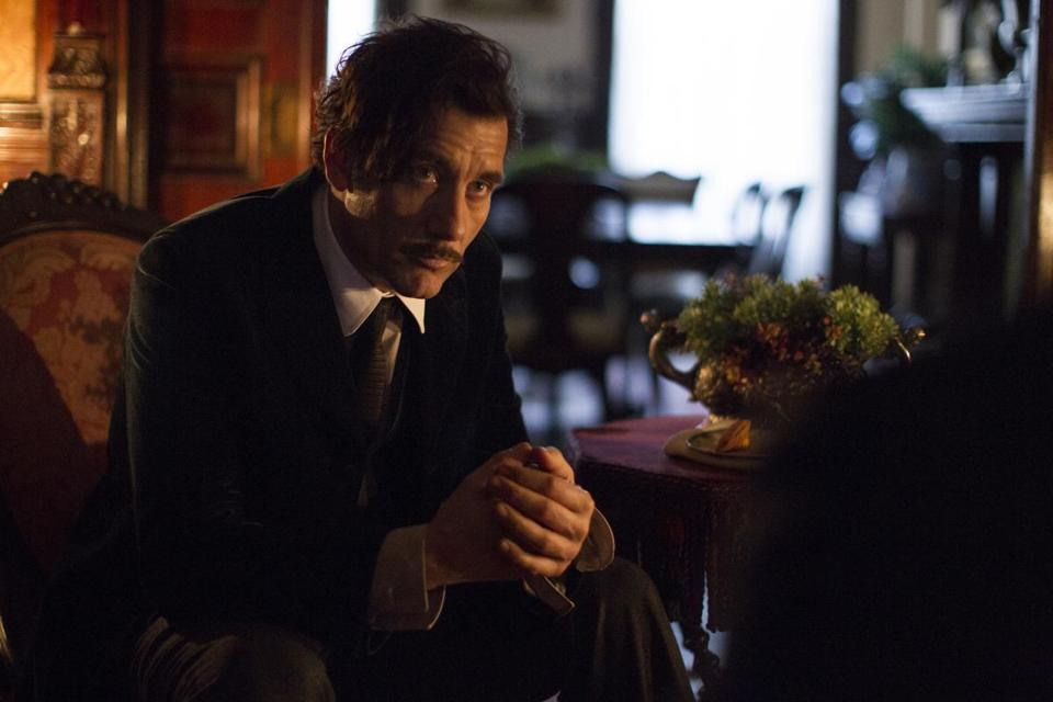 "Clive Owen in ""The Knick."""