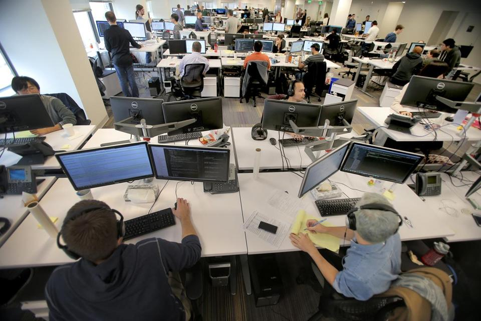 The War For Tech Talent Escalates The Boston Globe