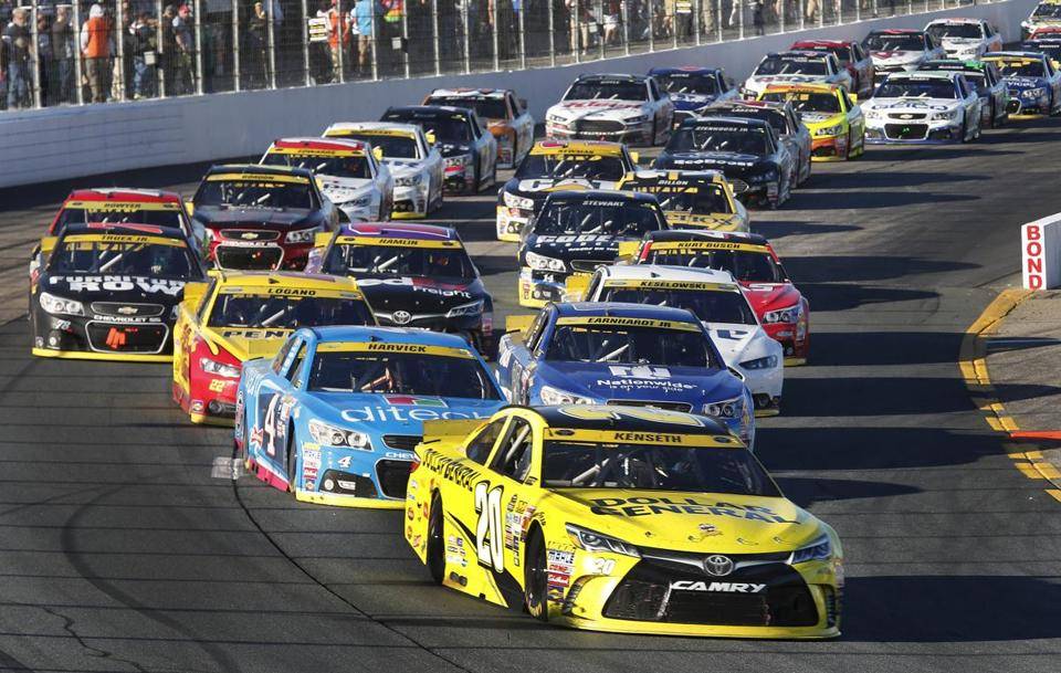 Nhms announces sprint cup dates for 2016 the boston globe for Champion motors amherst nh