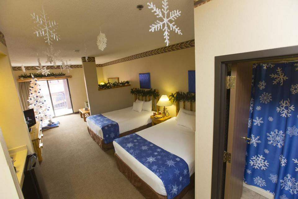 One of the Great Wolf Lodge chain's Snowland Suites.