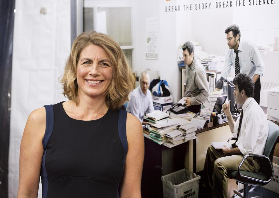 Boston Globe reporter Sacha Pfeiffer.