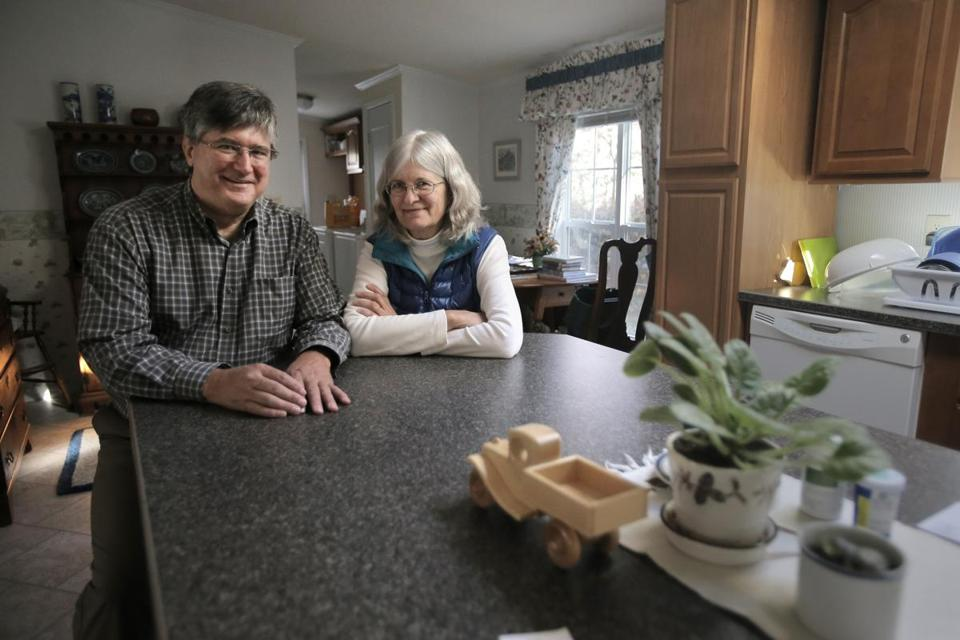 Ann and Jeff Wilson downsized from a four-bedroom Colonial.