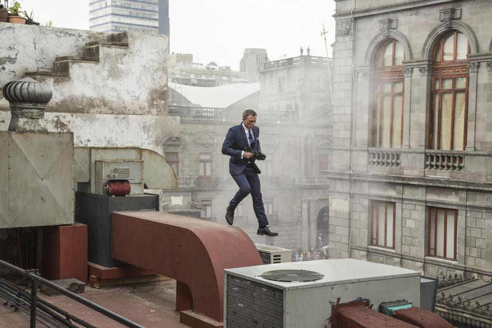 "Daniel Craig stars as James Bond — perhaps for the last time — in ""Spectre."""