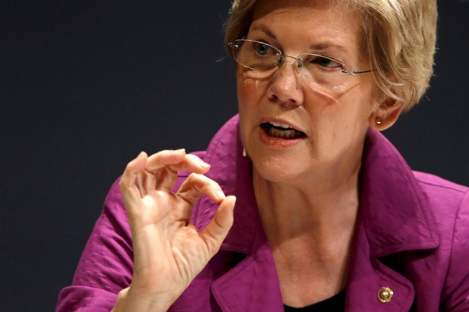 Sen. Elizabeth Warren has sparred with the White House over the way the deal was negotiated.