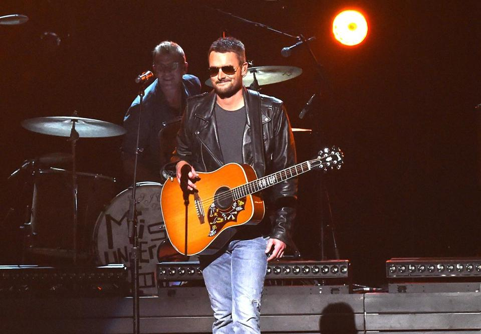 NASHVILLE, TN - NOVEMBER 04: Singer-songwriter Eric Church performs onstage at the 49th annual CMA Awards at the Bridgestone Arena on November 4, 2015 in Nashville, Tennessee. (Photo by Rick Diamond/Getty Images) -- 13albumreviews