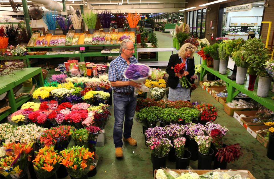 Vendors At The Boston Flower Exchange In South End Have Been Told They Must Move