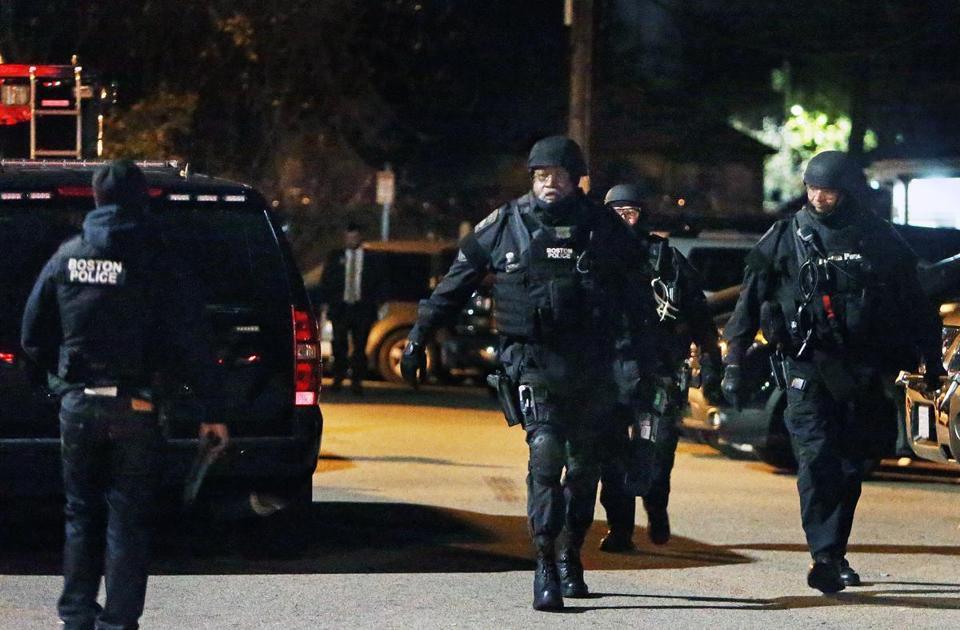 Male Suspect Barricades Himself In Roslindale The Boston Globe