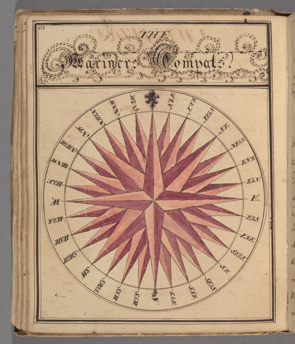 "William WinthropÕs notebook, called ""Notebook concerning mathematical equations: manuscript, 1769-1774."" (Colonial North American Project at Harvard University)"