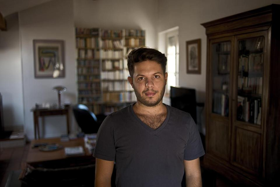 Theo Negri, who was denied an H-1B visa to work as an engineer at a start-up in San Francisco, in Lyon, France, Sept. 7, 2015. Critics say the visa program meant to help American firms hire foreigners with special skills is instead being dominated by outsourcing companies that move jobs offshore.