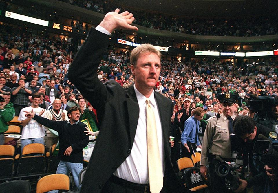 Larry Bird remains loyal to Boston and its teams — he even rooted for the Red Sox over the Cardinals.