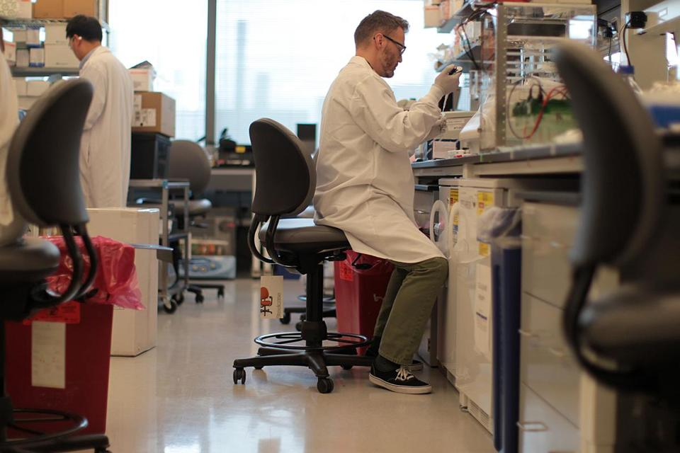Biogen researchers are working on treatments for such neurological disorders as Alzheimer's and Parkinson's diseases, as well as advancing its signature treatments for multiple sclerosis.