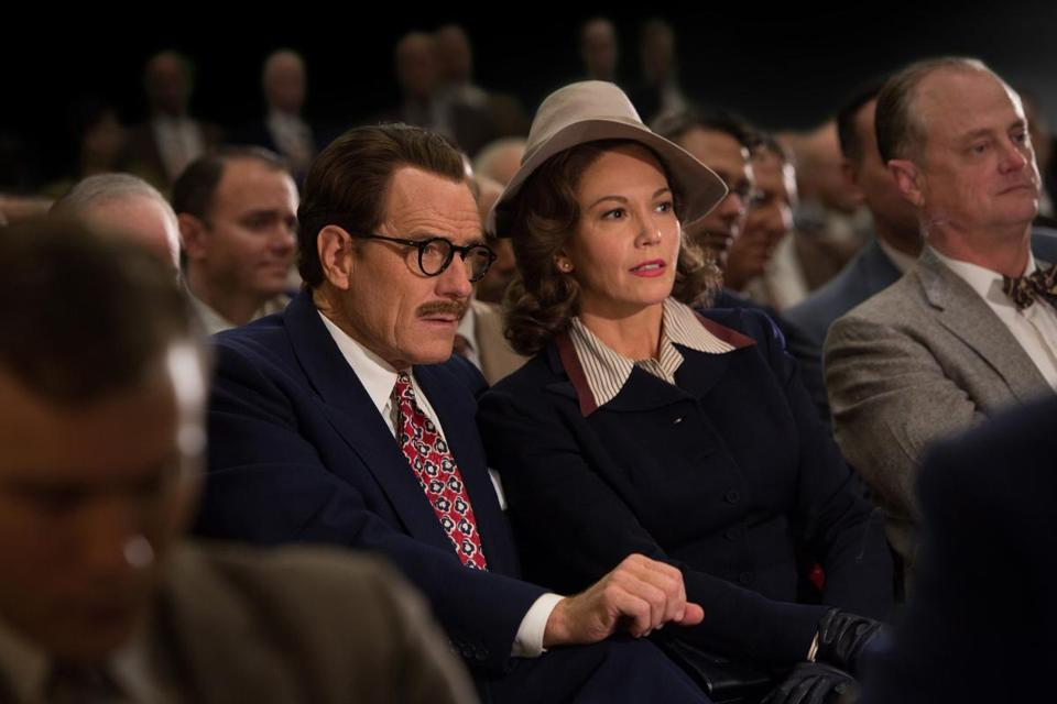 "Bryan Cranston and Diane Lane in ""Trumbo."""