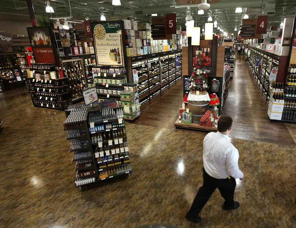 Total Wine & More is opening a store in Natick (above) this week and in Everett and Shrewsbury next fall. It's also hoping to do business in Boston.