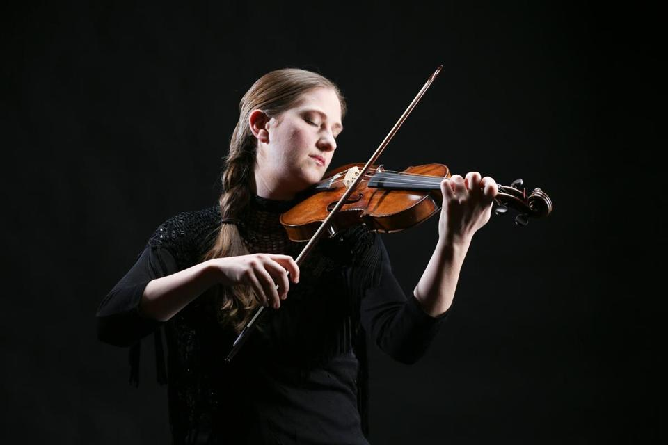 "Violinist Christina Day Martinson is featured in Boston Baroque's presentation of Vivaldi's ""Four Seasons.''"