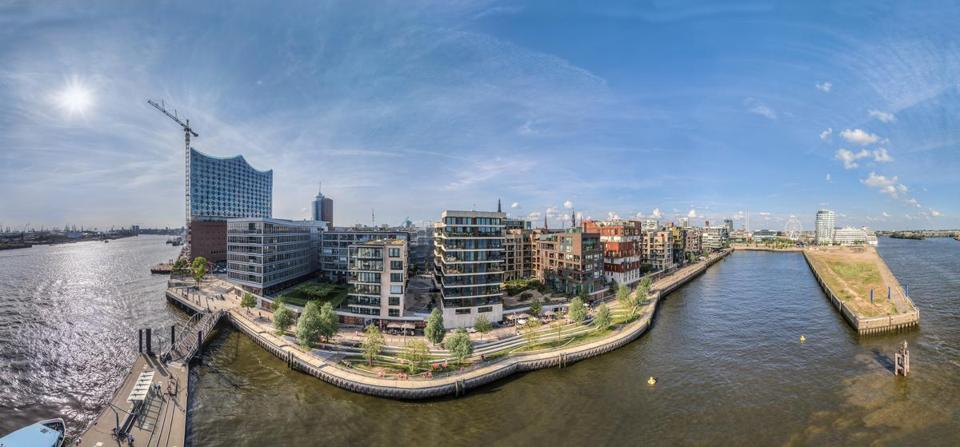 HafenCity, a neighborhood in Hamburg, has gained attention for its flood-proof design.