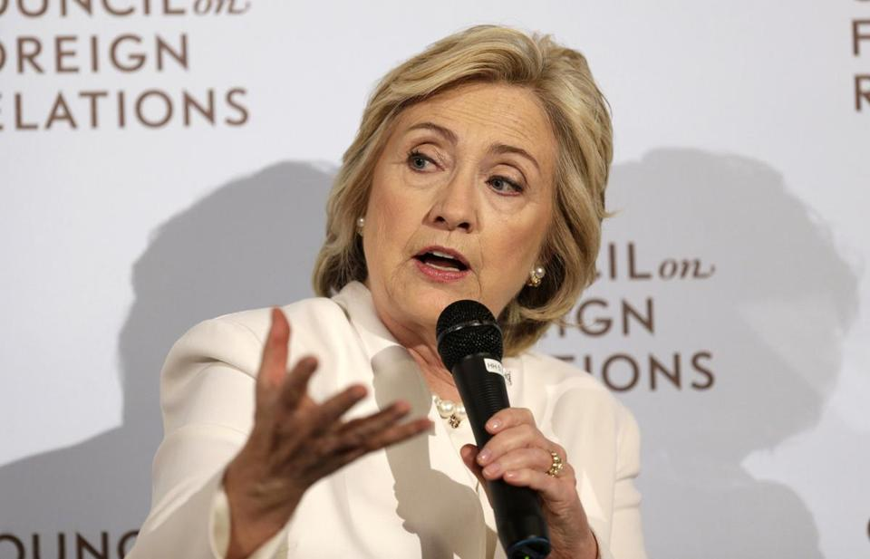 """I did say, when I was secretary of state, three years ago, that I hoped it would be the gold standard. It was just finally negotiated last week, and in looking at it, it didn't meet my standards."" Except in 2002, Hillary Clinton said, ""This TPP sets the gold standard in trade agreements."" PolitiFact rating: Half-True"