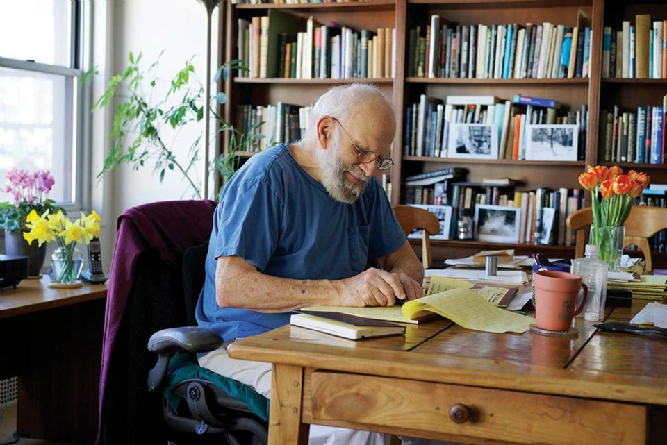 Oliver Sacks, the neurologist and author of 12 books, died in August of cancer.
