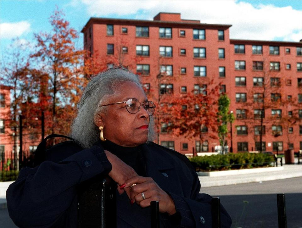 Mrs. Hailey led the movement to give tenants at Bromley-Heath a say in how their homes are managed.