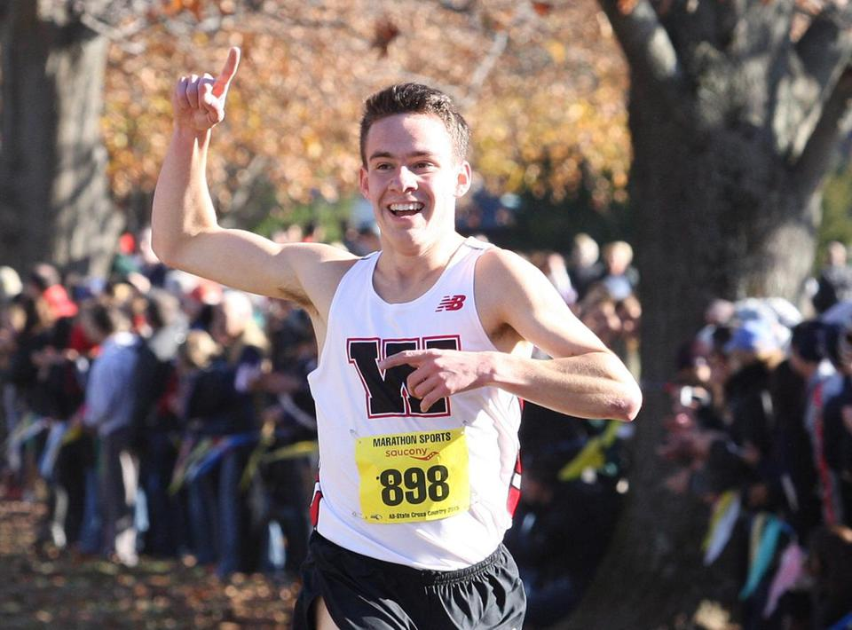 Thomas D'Anieri set a course record at the Division 1 All-State meet (15:16).