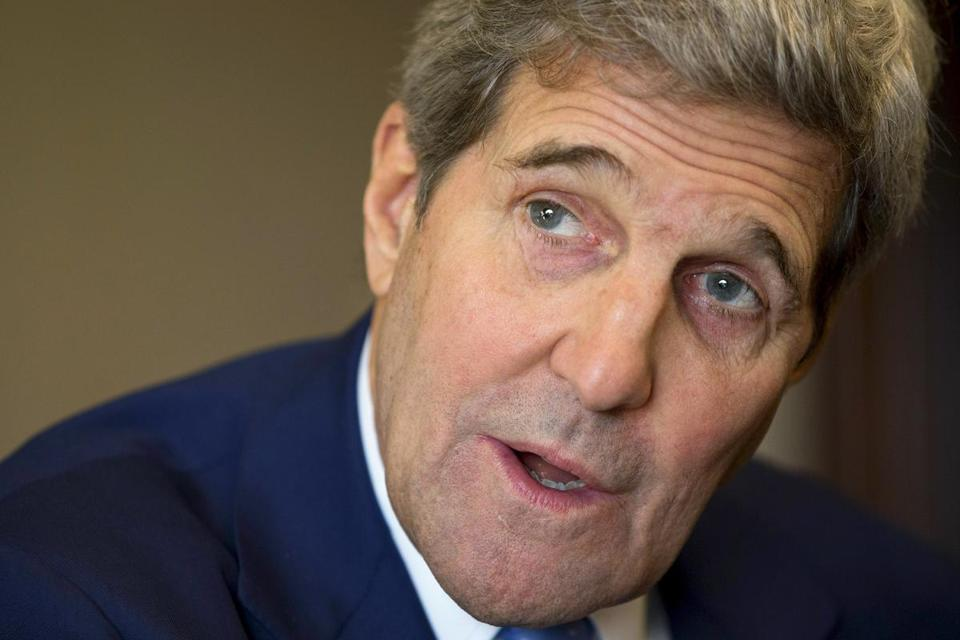 Secretary of State John Kerry sent a letter to governors on refugees.